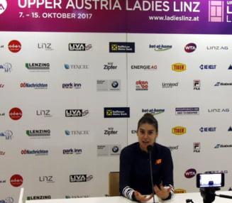 Sorana Cirstea, dupa meciul de pomina de la Linz: La un moment dat nici nu stiam scorul