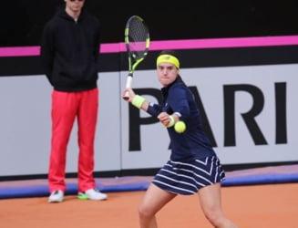 Sorana Cirstea, eliminata in sferturi la Madrid