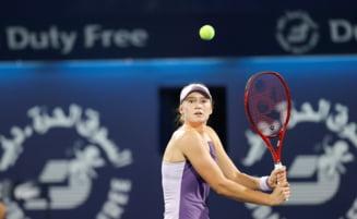 Sorana Cirstea a aflat ora de start a partidei de la Doha in care se va duela cu Elena Rybakina
