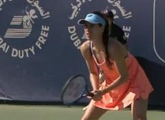 Sorana Cirstea a fost eliminata in turul doi la Dubai. Romania nu mai are reprezentante in turneul de simplu