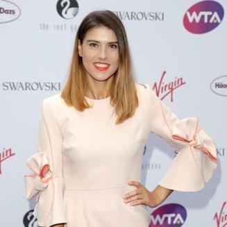 Sorana Cirstea a stralucit la petrecerea jucatoarelor de la Wimbledon