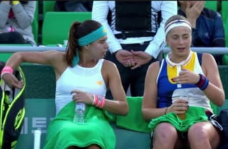 Sorana Cirstea si Jelena Ostapenko, eliminate de la Australian Open