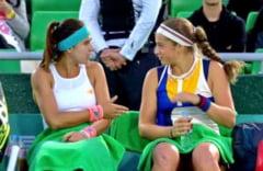 Sorana Cirstea si Jelena Ostapenko, eliminate in semifinalele probei de dublu de la Roma