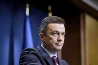 Sorin Grindeanu: Premierul mi-a oferit un post de ministru