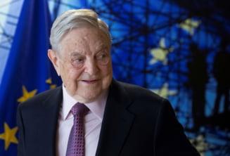 Soros investeste 1 miliard de dolari in lupta impotriva dictatorilor. Include SUA aici si spune despre Trump ca este escroc si narcisist