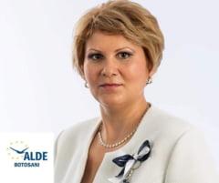 Sotia fostului baron PNL din Botosani, Florin Turcanu, candideaza pe listele ALDE pentru Primaria Botosani