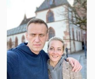 Sotia lui Aleksei Navalnii ii raspunde lui Putin dupa declaratiile de la Geneva. Fotografia care il contrazice pe liderul de la Kremlin FOTO