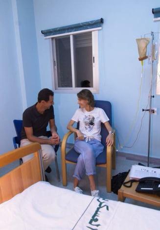 Sotia lui Bashar al-Assad a fost diagnosticata cu cancer la san, anunta presedintia siriana