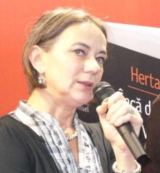 Sotia lui Nicolae Manolescu a demisionat din functia de vicepresedinte al USR