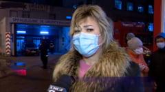 """Sotia pacientului ars, care a murit in Belgia: """"Mie imi pare rau daca domnul ministru spune ca nu exista un autor moral"""""""