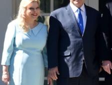Sotia premierului Israelului este judecata pentru frauda si risca pana la 5 ani de inchisoare
