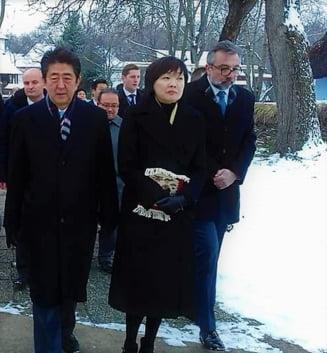 Sotia premierului Japoniei promite ca o sa spuna peste tot de Romania