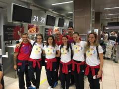 Spadasinele au plecat la RIO