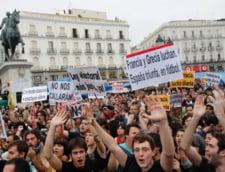 Spania: Incep proteste in masa in 50 de orase