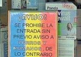 Spania: Magazinul care a afisat mesaje anti-romani a ramas fara franciza