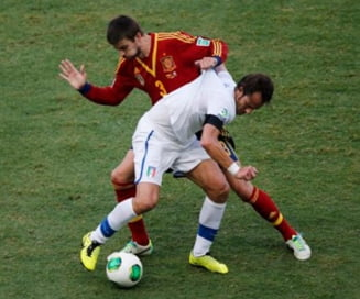 Spania invinge Italia la penaltiuri si merge in finala Cupei Confederatiilor