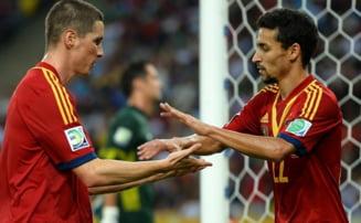 Spania n-a avut mila de Tahiti: scor record la Cupa Confederatiilor