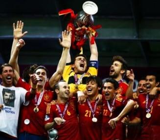Spania umileste Italia si castiga EURO 2012 (Video)