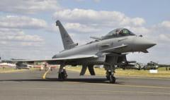 Spania va participa cu avioane Eurofighter la apararea spatiul aerian al Romaniei si al NATO in zona Marii Negre