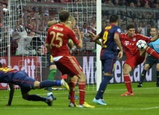 Spaniolii reactioneaza: Trei goluri neregulamentare in Bayern - Barcelona
