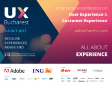Speakeri de top la UX Bucharest 2017 - Conferinta Internationala de User Experience Design, 2nd Edition