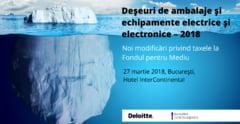 Specialistii Deloitte Romania discuta despre impactul noilor modificari privind taxele la Fondul pentru Mediu
