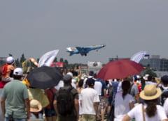 Spectacol pe cer pentru zeci de mii de spectatori la cel mai mare airshow din Romania - Fotoreportaj