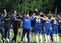 """Spectacol total in derby-ul promovatelor in Liga 1, Rapid - FCU Craiova. Cine e jucatorul care a inscris o """"tripla"""""""