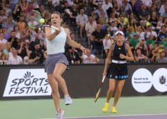 Spectacol total la Sports Festival: Simona Halep, Darren Cahill, tatal Simonei si Emil Boc au ridicat spectatorii in picioare