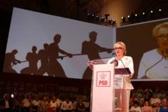 Spectacol total la congresul PSD. Viorica Dancila: Am incredere ca voi fi primul presedinte femeie al Romaniei!