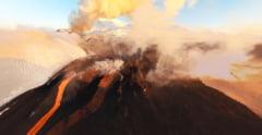 Spectacol unic in Kamceatka: Patru vulcani erup simultan (Video)