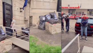 "Spectacolul dezgustator facut de Oana Lovin si Codruta Cerva in fata Ministerului Sanatatii: ""Esti o incompetenta si o dobitoaca, fa nenorocito!"" VIDEO"