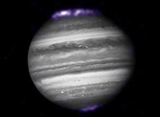 Spectaculoasa aurora boreala de pe Jupiter (Galerie foto)