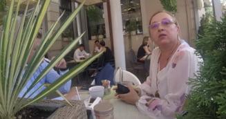 Speranta Cliseru, certata de un cetatean privind protestele din 10 august. A depus plangere penala (Video)