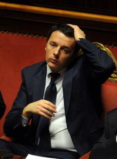 Sperietura serioasa pentru premierul Italiei, in timp ce zbura cu elicopterul