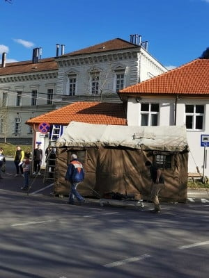 Spitalul Militar Brasov continua demersurile pentru a construi un nou pavilion