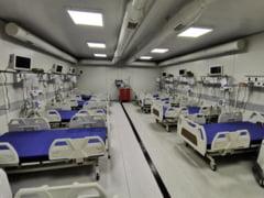 Spitalul mobil de la Letcani se inchide timp de cateva zile, pentru igienizare. Managerul unitatii spune ca decizia nu are legatura cu frigul din saloane