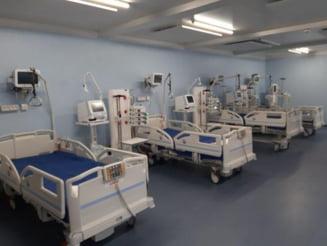 """Spitalul modular va primi pacienti abia """"din prima jumatate a lunii septembrie"""""""