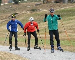 Sport extrem nou in Parcul Herastrau, intre ski si role (Video)