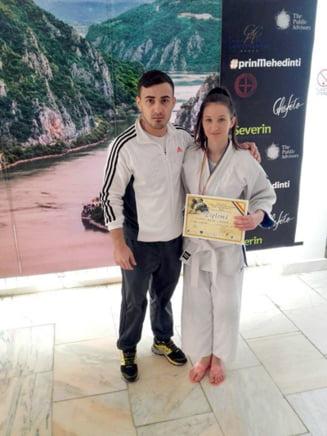 """Sportivii de la L.P.S Slatina, pe podium la Turneul international de judo """"Cupa Severinului"""""""