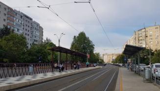 Stația din Sectorul 3 unde tramvaiele nu opresc, spre disperarea călătorilor. A fost modernizată timp de 7 luni VIDEO
