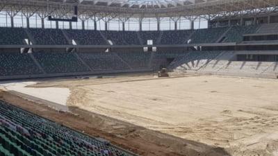 Stadionul Steaua, aproape de a fi finalizat
