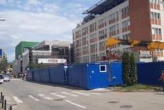 Stadiul lucrarilor la Spitalul Judetean au depasit pragul de 70%. Urgentele se muta in containere