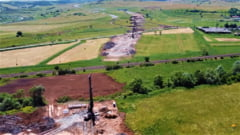 Stadiul lucrarilor pe Autostrada A3 Nadaselu-Zimbor dupa cateva luni de la startul lucrarilor VIDEO