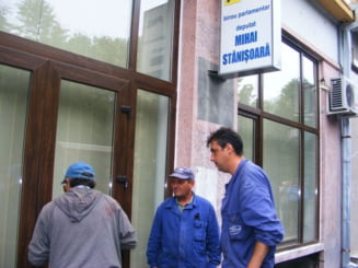 Stanisoara, evacuat din birou pentru chiria neplatita