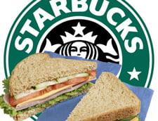 Starbucks, in lupta cu McDonald''s si KFC: Include in meniu produse de tip fast-food