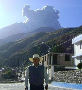 Stare de urgenta in Peru: Un vulcan ameninta sa rada de pa fata pamantului mai multe localitati
