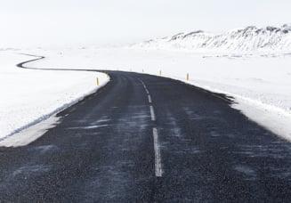 Starea drumurilor in aceasta dimineata: Portiuni inchise si trafic restrictionat