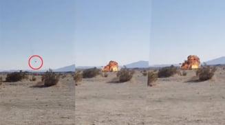 Statele Unite: Momentul prabusirii avionului F-35B, suprins de martori oculari (Foto/Video)