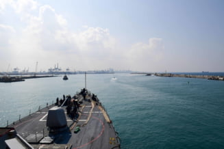 Statele Unite au trimis o nava de razboi in sudul Israelului, pentru prima data in ultimii 20 de ani